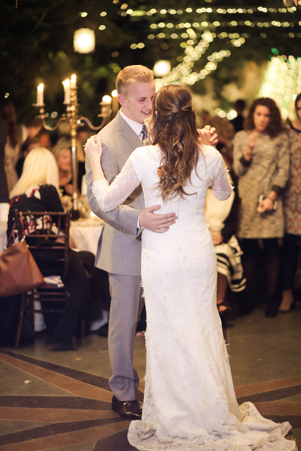 Winter Wedding at La Caille | Romantic Winter Wedding | La Caille Wedding | Michelle Leo Events | Utah Event Planner and Designer | Pepper Nix Photography