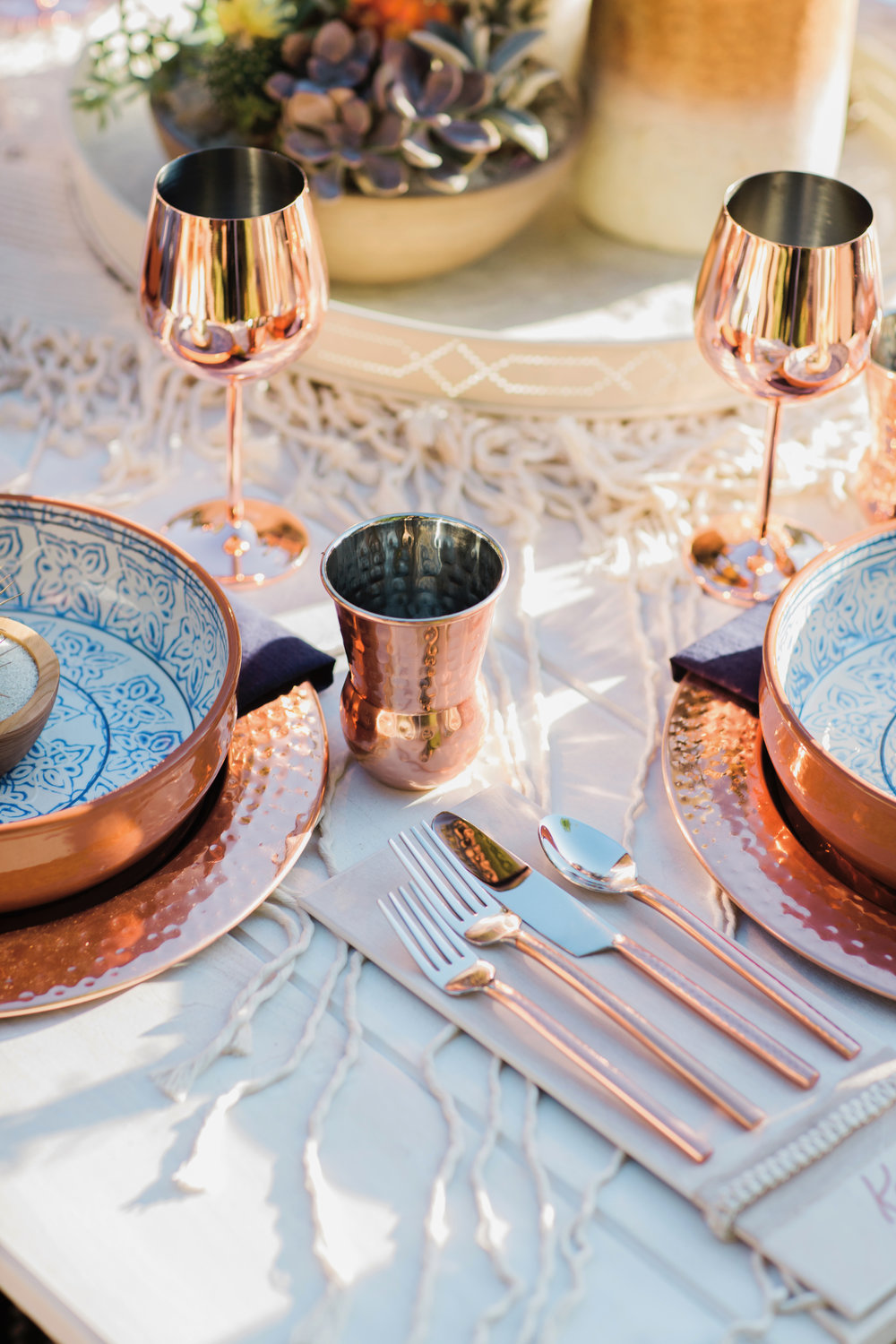 Bohemian-Desert Inspired Bridal Brunch | Rocky Mountain Bride Magazine | Boho Wedding Inspiration | Michelle Leo Events | Utah Event Planner and Designer | Alixann Loosle Photography