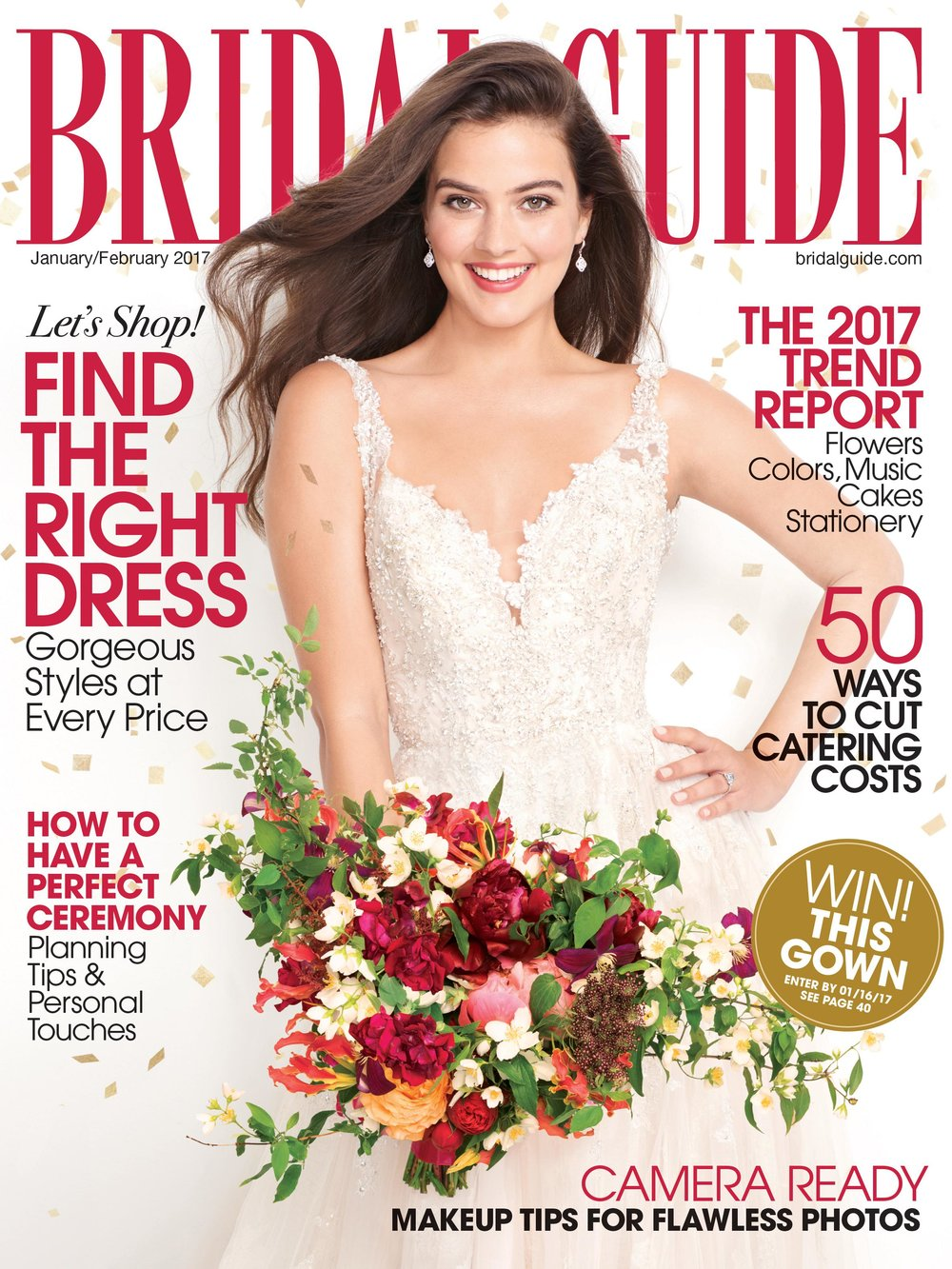 2017 Wedding Trends | Bridal Guide Magazine | Michelle Leo Events | Utah Event Planner and Designer