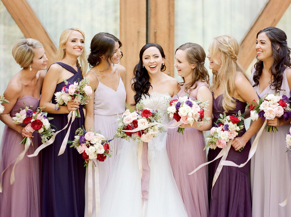The Tradition and Role of Bridesmaids | Bridesmaid Gifts | Michelle Leo Events | Utah Event Planner and Designer | Heather Nan Photography