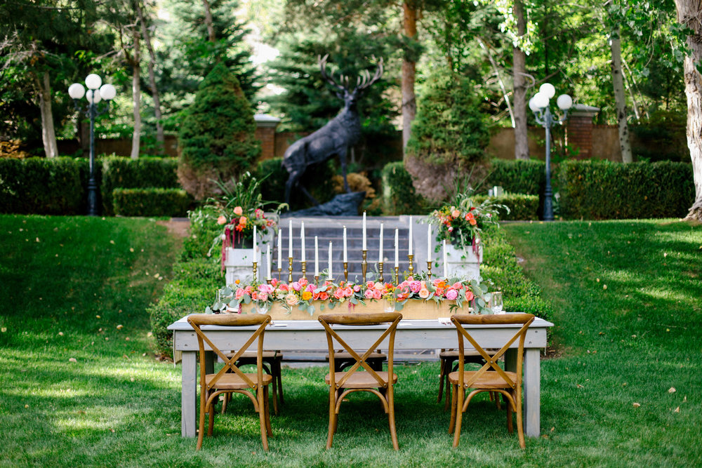 English Garden Wedding Inspiration | Garden Style Wedding | Summer Wedding | Backyard Wedding | Michelle Leo Events | Jacque Lynn Photography