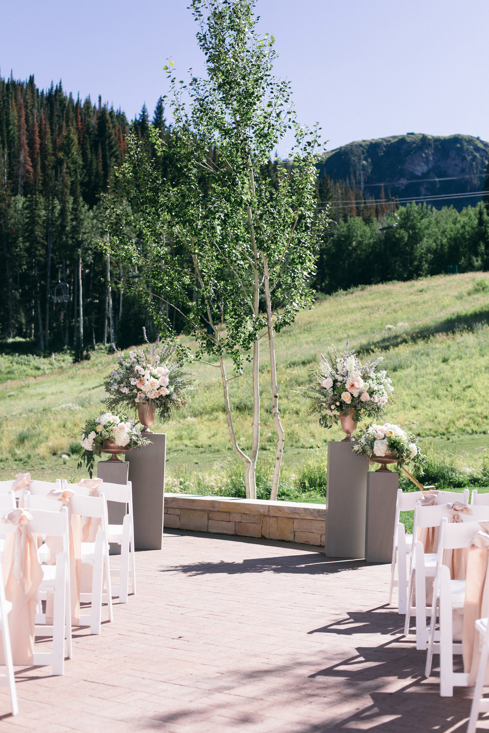 Montage Deer Valley Wedding | Romantic Summer Wedding | Michelle Leo Events | Utah Event Planner and Designer | Shannon Elizabeth Photography