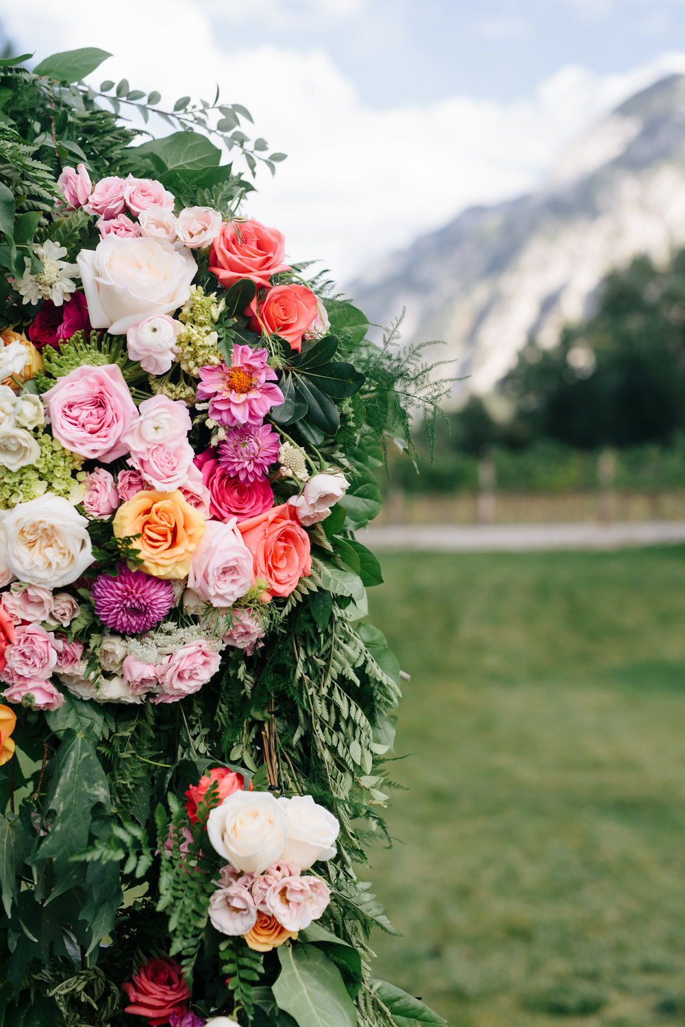Romantic Wedding at La Caille | La Caille Wedding | Salt Lake City Wedding | Military Wedding | Michelle Leo Events | Utah Event Planner and Designer | Brushfire Photography