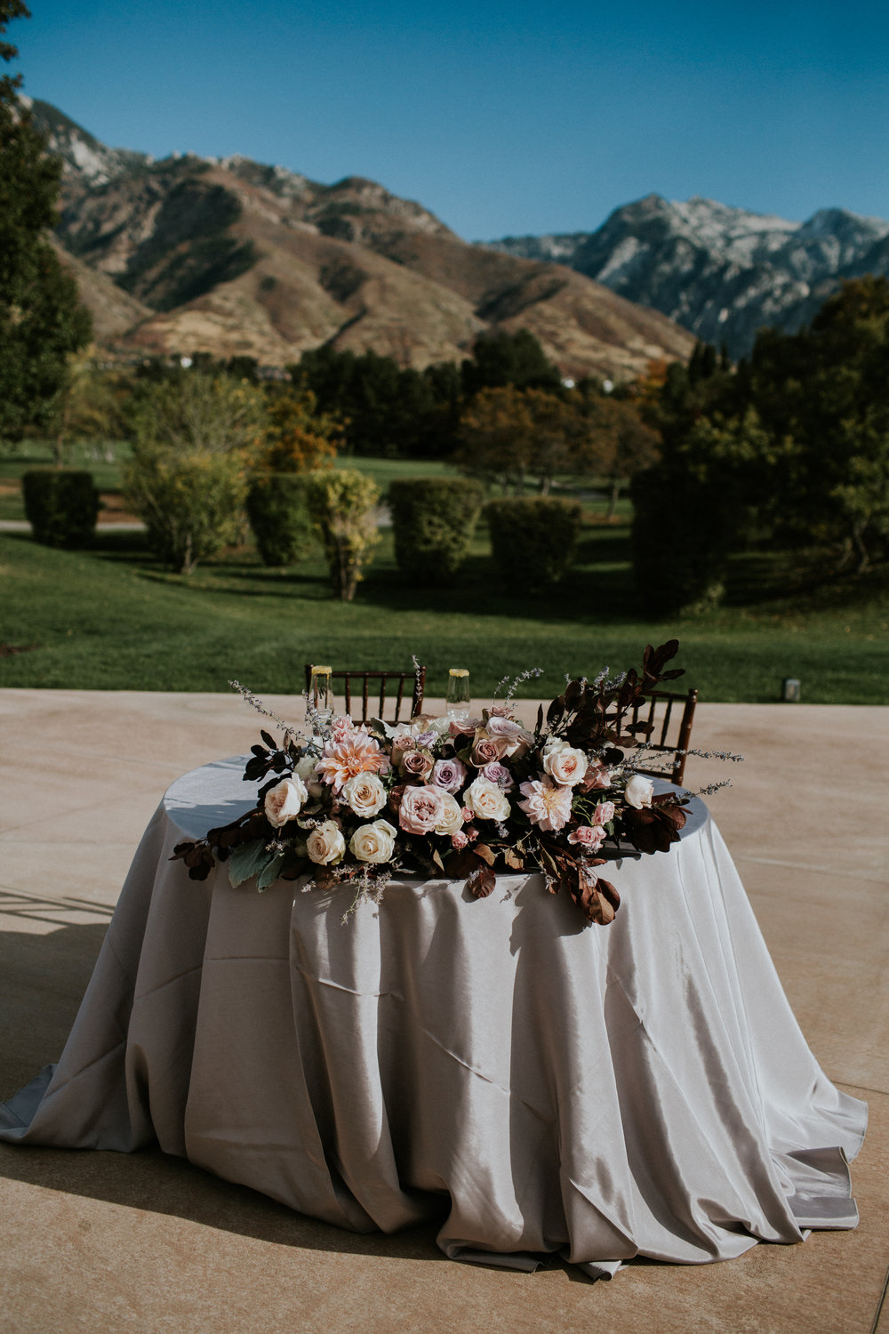 Elegant Fall Wedding | Country Club Wedding | Blush Wedding | Michelle Leo Events | Utah Event Planner and Designer | Jessica Janae Photography