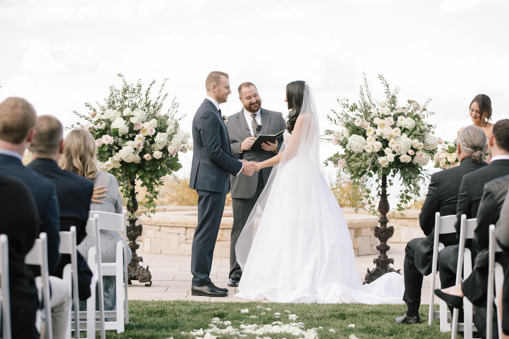 Fall Wedding in Utah | Montage Deer Valley Wedding | Simple and Elegant Wedding | Blush | Michelle Leo Events | Utah Event Planner and Designer | D'Arcy Benincosa Photography