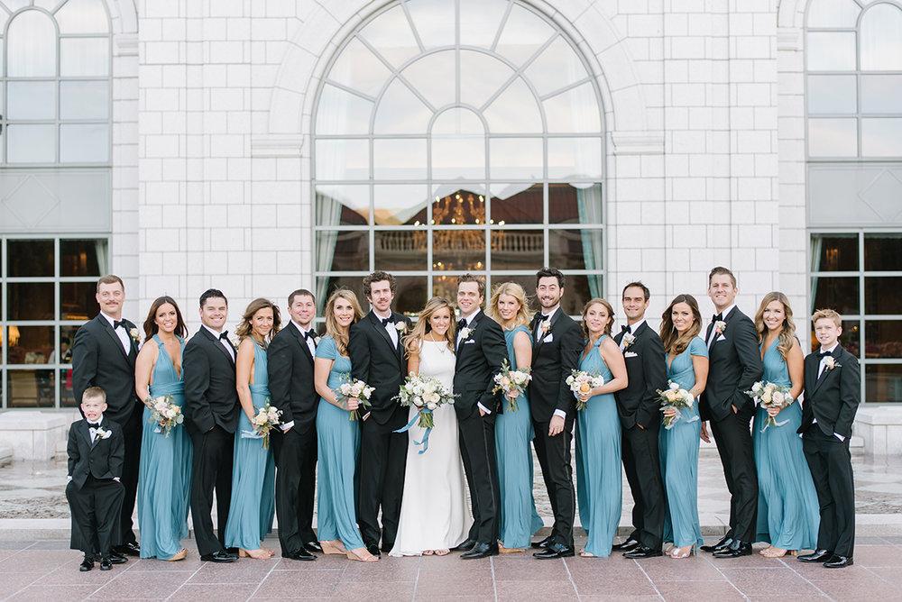 Grand America Hotel Wedding | Fall Wedding | Dusty Blue | Michelle Leo Events | Utah Wedding Design and Planning | Heather Nan Photography