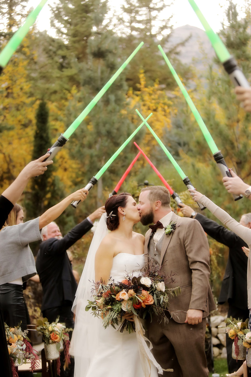 Sundance Wedding | Fall Wedding | Star Wars Inspired Wedding | Michelle Leo Events | Utah Event Planner and Designer | Pepper Nix Photography