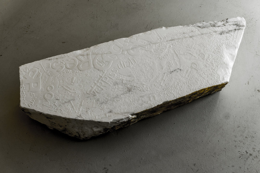 lukas liese punchlines marmor marble text relief rap sculpture.jpg