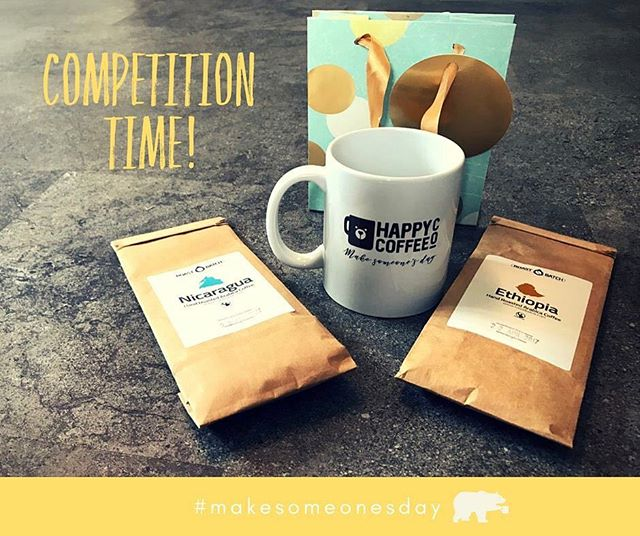 It's competition time at Happy Coffee! Anyone who nominates (it's free!) or buys a cup (from as little as £1) between now and 19th May will be entered to win a surprise package full of coffee related goodies 😍☕️💛 www.happy-coffee.co.uk #instacoffee #coffeelife #coffeelovers #kindness #kindnessmatters #randomactsofcoffee #randomactsofkindness #rak #makesomeonesday