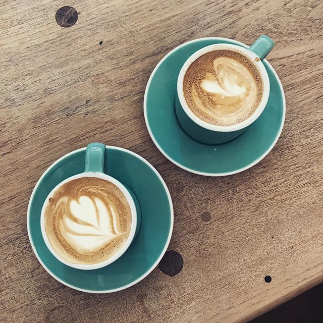 Is there anything better than a lovely coffee and a catch up with a great friend? If you can't be there in person why not send a Happy Coffee? #flatwhite #coffeeart #cambridge
