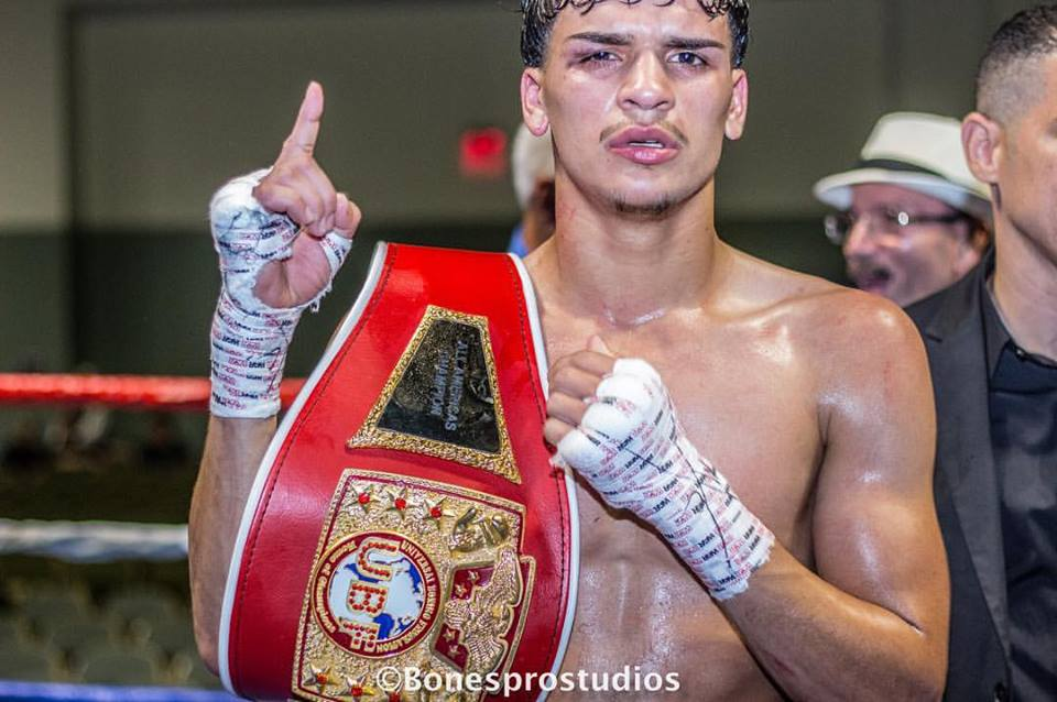 Pro Boxer Irvin Gonzalez  photography by Bones Prostudios