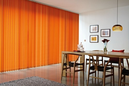 Colourful Kitchen Blinds