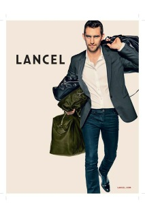 client  : lancel   photographer  : patrick demarchelier
