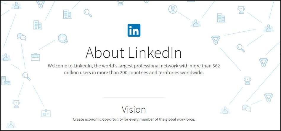 LinkedIn is a perfect donor prospecting tool for researching professional connections.