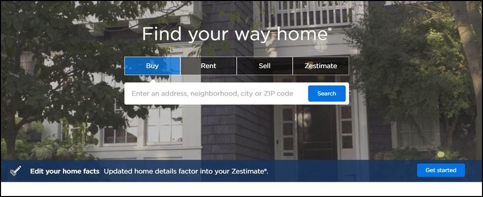 Zillow is one of the easiest donor prospecting tools for researching property values and sales.