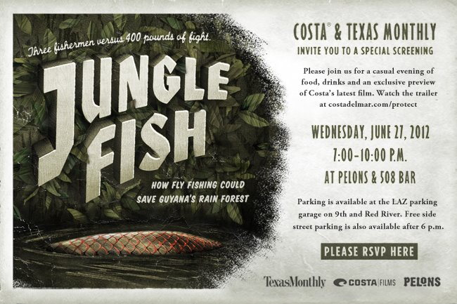 Costa del Mar / Texas Monthly present Jungle Fish