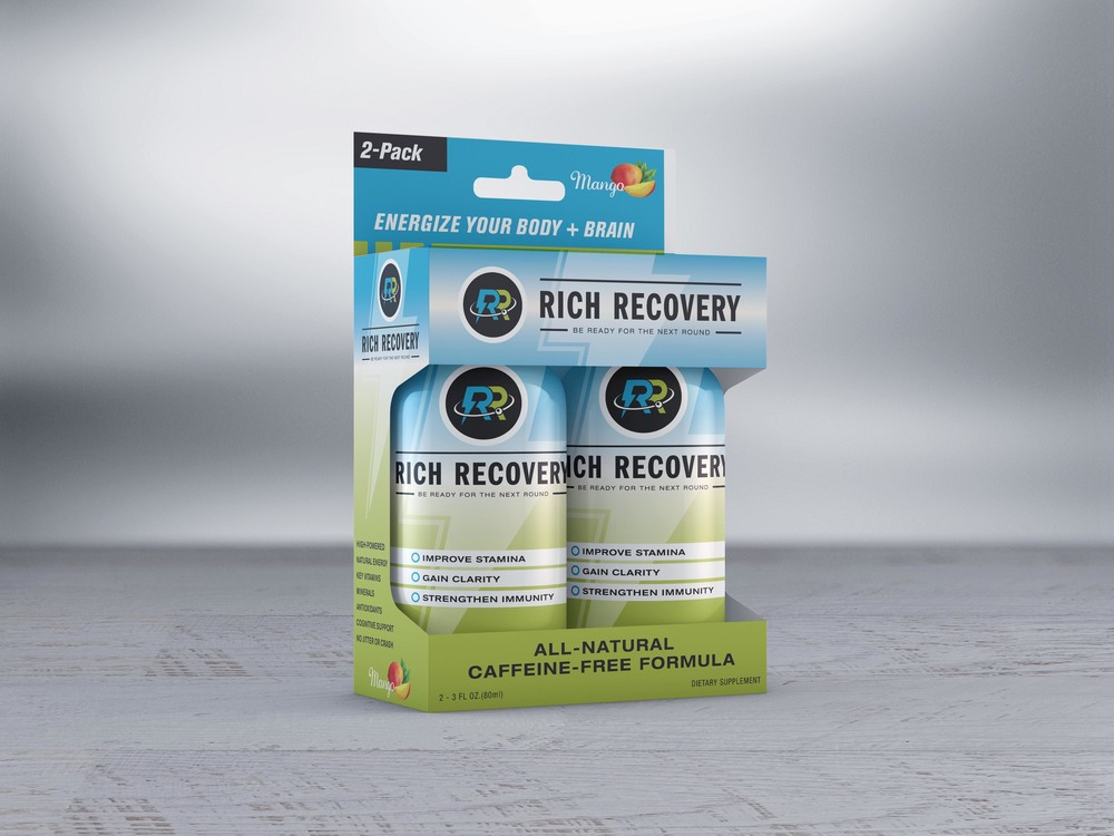 Rich Recovery Shot - 2-pack Packaging