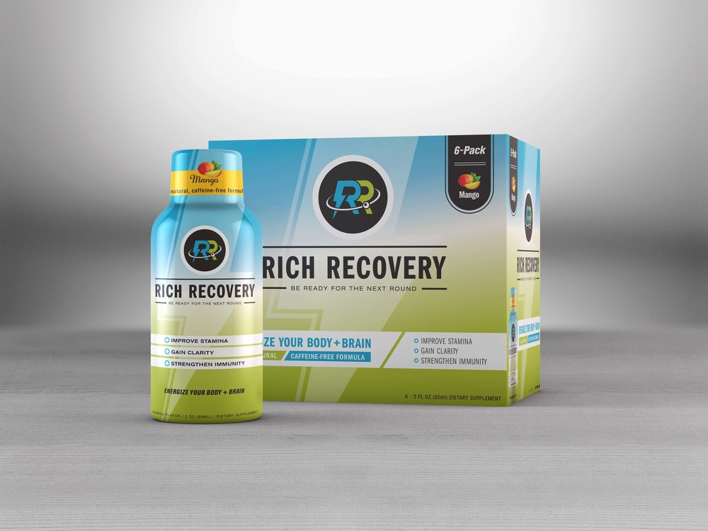 Rich Recovery Shot - 6-pack Packaging