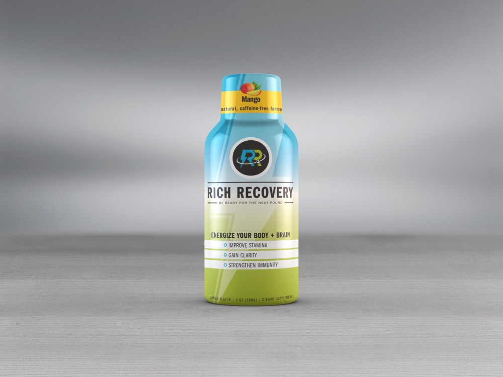 Rich Recovery Shot - Packaging