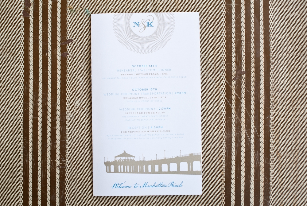 Wedding - Out of Town Guest Welcome Brochure