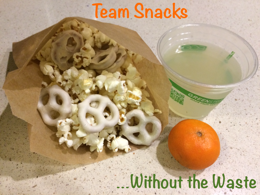 kelly green consultant llc team snacks without the waste
