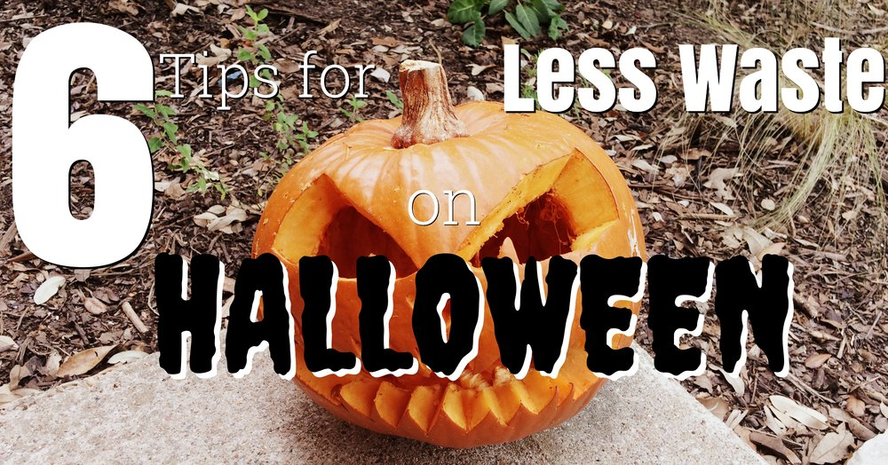 6 Tips for Less Waste on Halloween (Zero Waste)