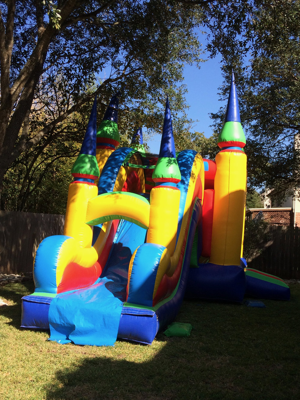 Bounce House Zero Waste Party