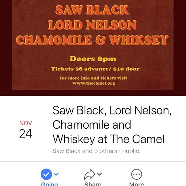 Saw Black & band bring their show from its Jefferson Theater debut back to Richmond tonight along with the same lineup, closing it out tonight! Warm up from the cold rainy drear tonight with good tunes and good friends!
