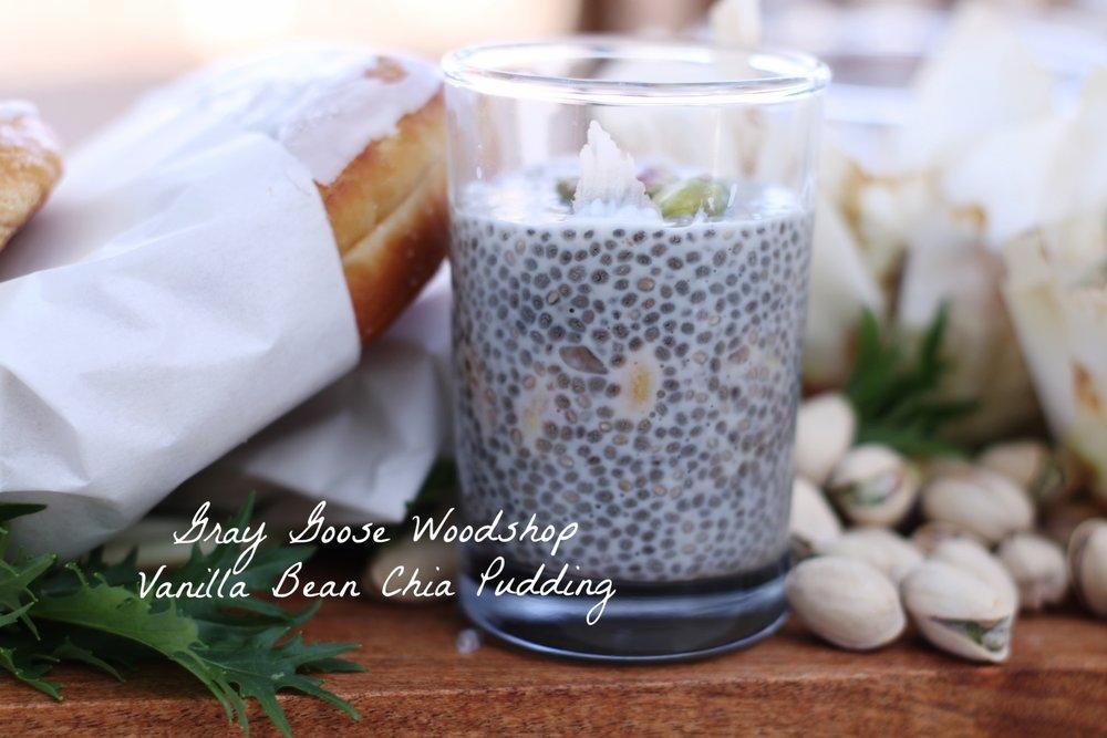 Gray Goose Woodshop Chia pudding recipe