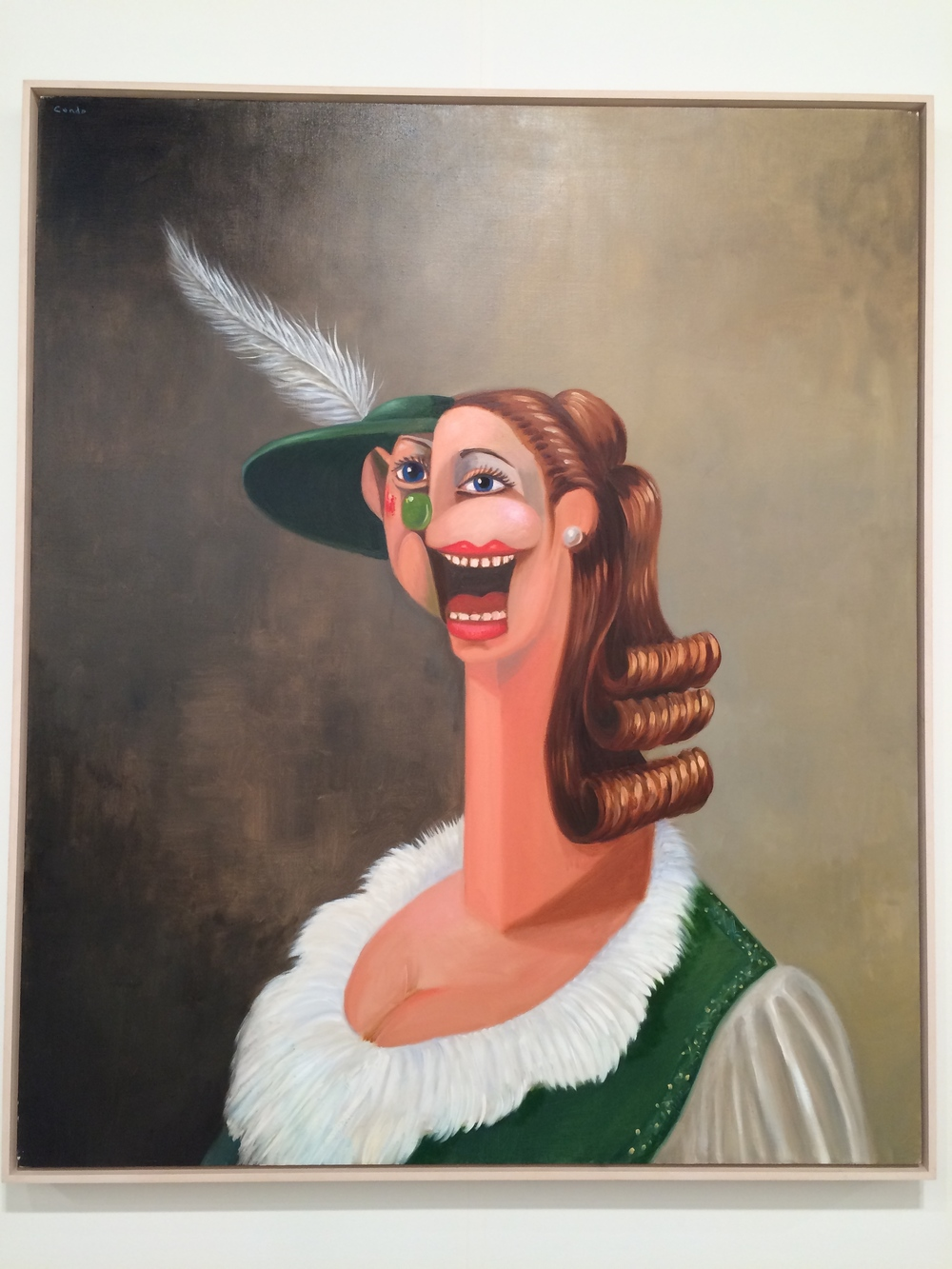 George Condo at John Berggruen Gallery