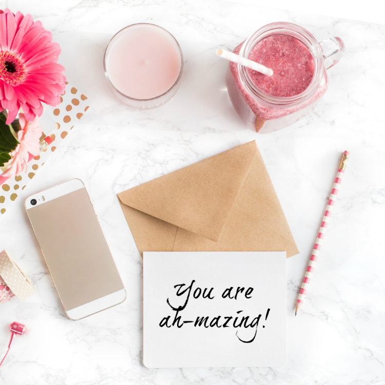 Mompreneur on Fire - Thank You Note