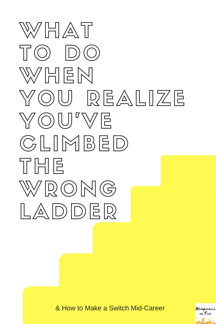 Mompreneur on Fire - Wrong Ladder