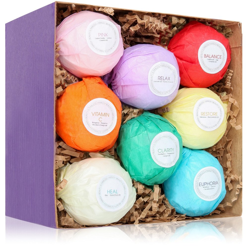 Mompreneur on Fire - Lush Bath Bombs