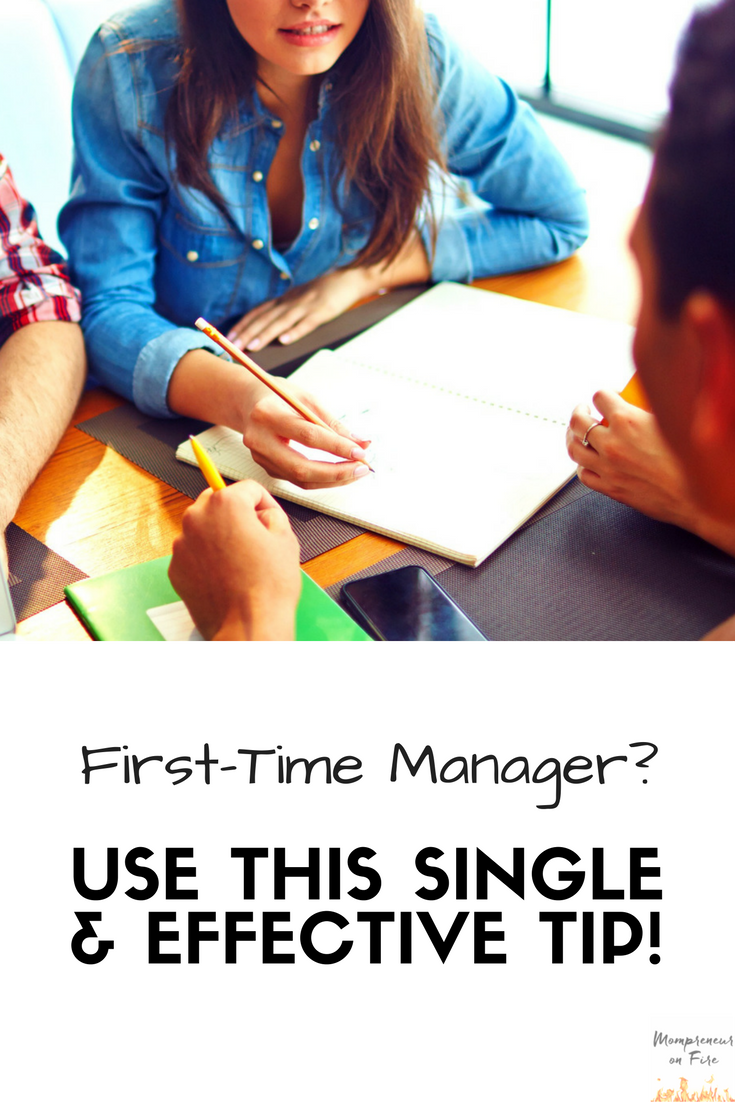Mompreneur on Fire - First Time Manager