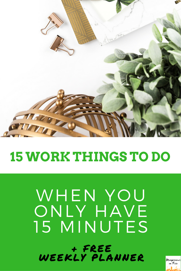 Mompreneur on Fire - 15 Things