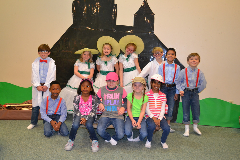 Back row: Payton Burton, Sara Grace Taylor, Emily Brooks, Madelyn Burns, Sawyer Humber, Landon Winters, and Larson Cook  Seated: Jicori Nolan, Aubree McIver, Chanslee Barringer, Faith Cobb, and Suzanne Mettu  Not pictured: Noe Rios