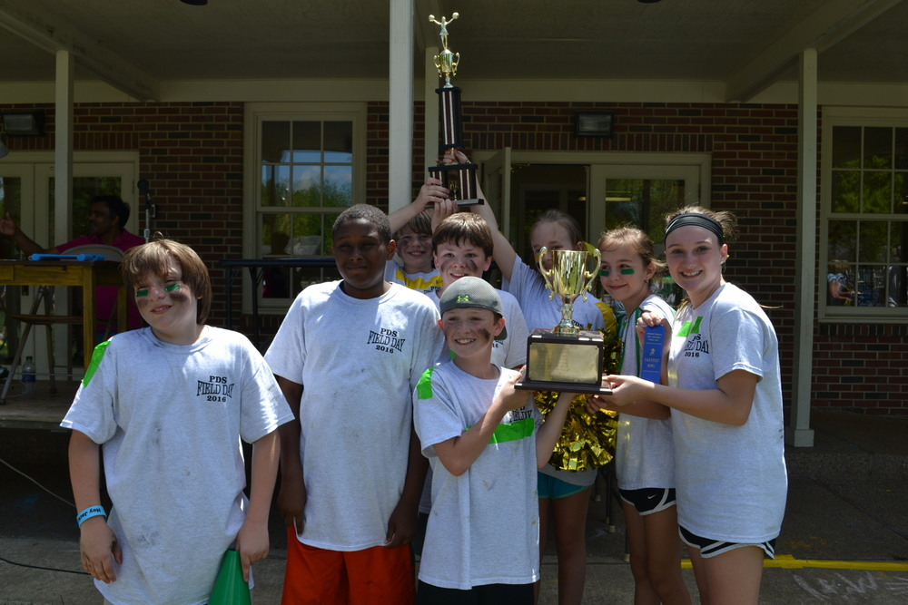 GREEN TEAM WINS OVERALL / GOLD TEAM WINS SPORTSMANSHIP
