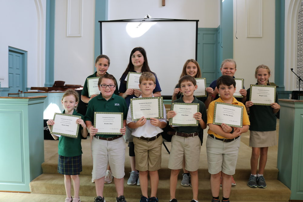 summer writing award winners