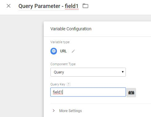 GTM Query Parameter