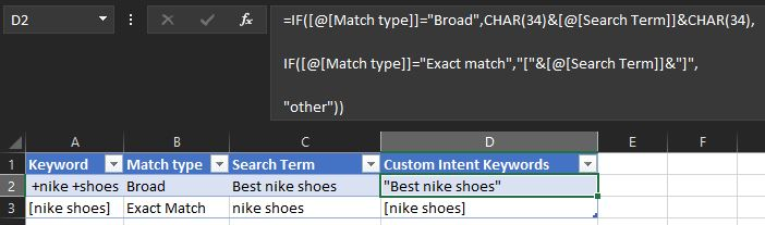 Add Match Types To Search Terms In Google Ads Search Terms Report
