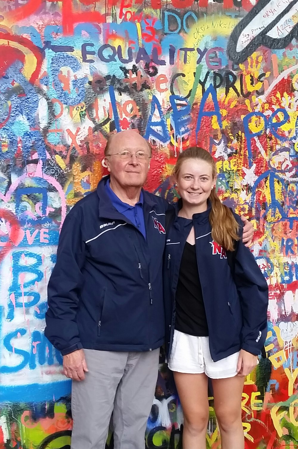 Bob and Megan Powers at the John Lennon Wall.jpg