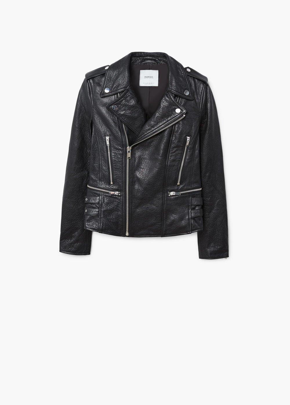 i am in the market for a black leather jacket. you can wear a black jacket over an evening dress, (teamed with a faux fur scarf - perfect for fall / early spring), and just as easily with denim or any daywear.