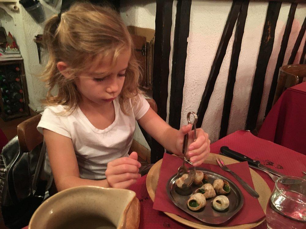 handling those snails like a boss!
