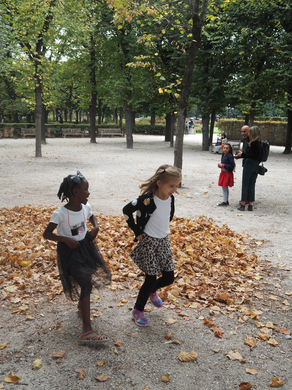 autumn leaves = joy