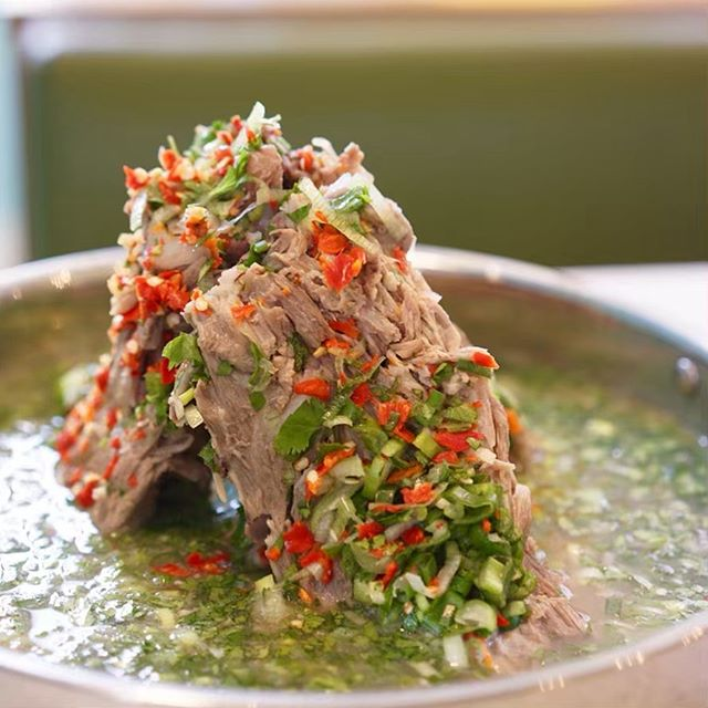 We are excited to introduce Leng Sab (เล้งแซ่บ). Our Volcano Pork Soup.  The latest craze from Thailand.  The freshness of lime, herbs and chilli just makes you want more and more.  Available from  this 12th May.  #shuangshuang #lengsab #เล้งแซ่บ