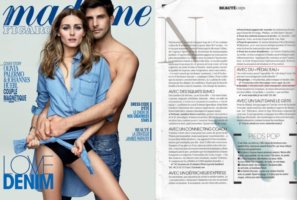 Le Figaro Madame et Aqua by