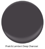 Image via: Arlyne Hernandez   Pratt and Lambert: Deep Charcoal