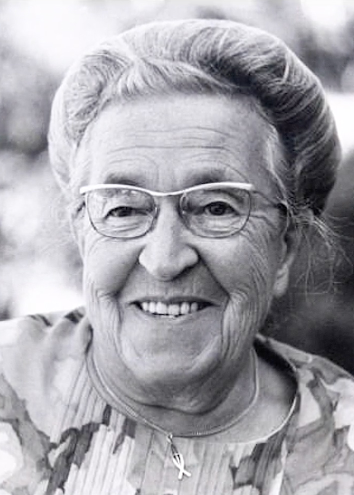 Corrie Ten Boom   Holocaust Survivor from Holland