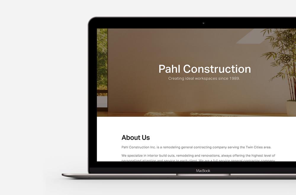 Pahl Construction