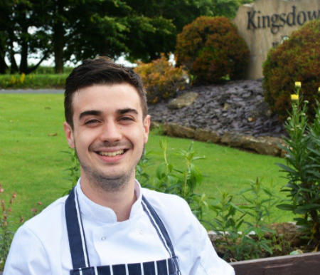 James Serle is our Head Chef at Kingsdown Golf Club. His experience in Kitchens belies his years, only his passion for the culinary arts can match his expertise. James is the perfect match for the demands of  Kingsdown golf club , his skill and conscientious approach to his craft go hand in hand with the challenges of this kitchen.